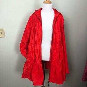Tiered Red Jacket - Eva Franco - XL